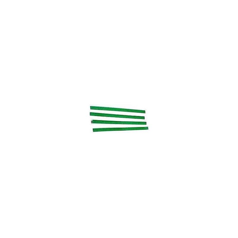 Green Twist Ties