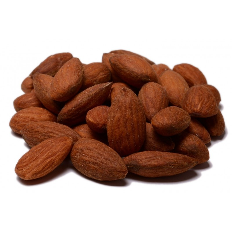 No Salt Roasted Almonds