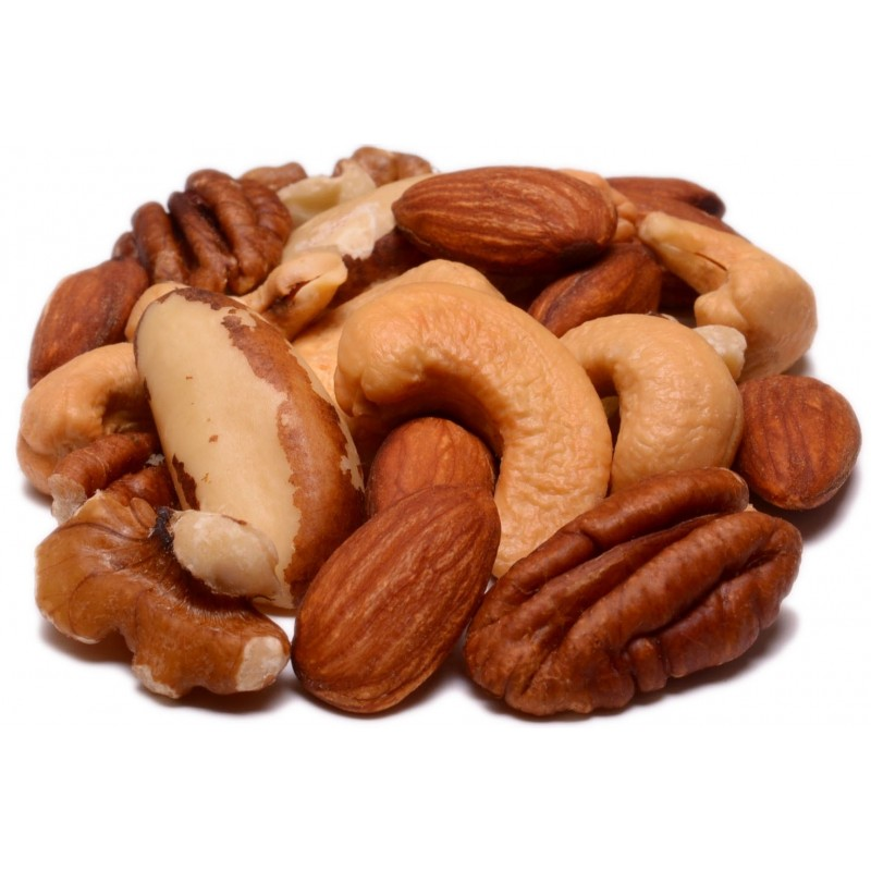 Roasted Assorted Nuts No Salt