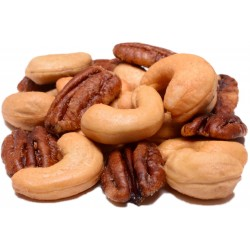 Cashews and Pecans Roasted and Salted