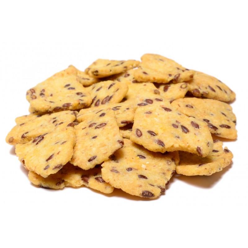 Flax Seed Corn Chips
