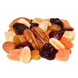 Cherry and Berry Trail Mix