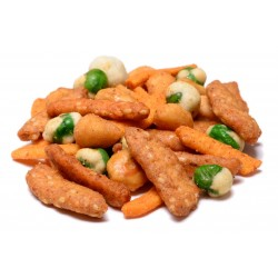 Spicy and Sweet Snack Mix