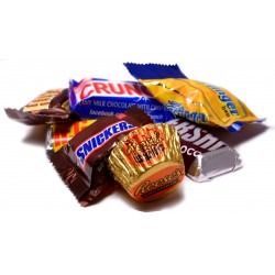 Chocolate Candy Bar Assortment