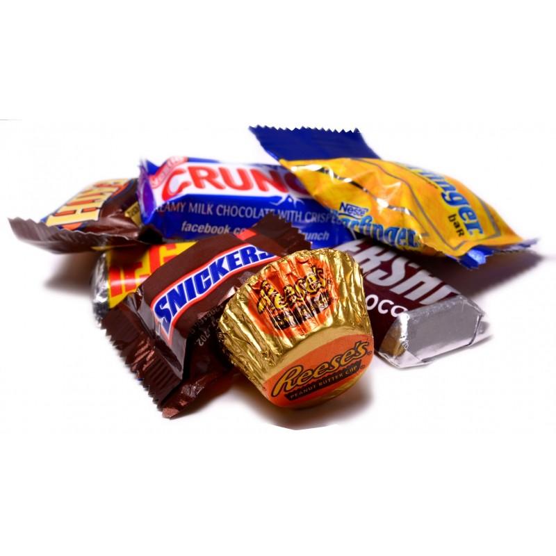 Chocolate Candy Bar Assortment