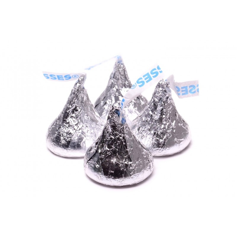 Hershey Kisses Silver Milk Chocolate