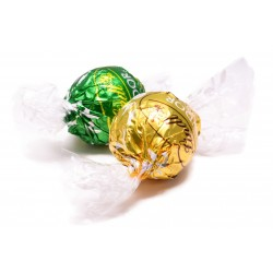 Green and Gold Truffles Lindor
