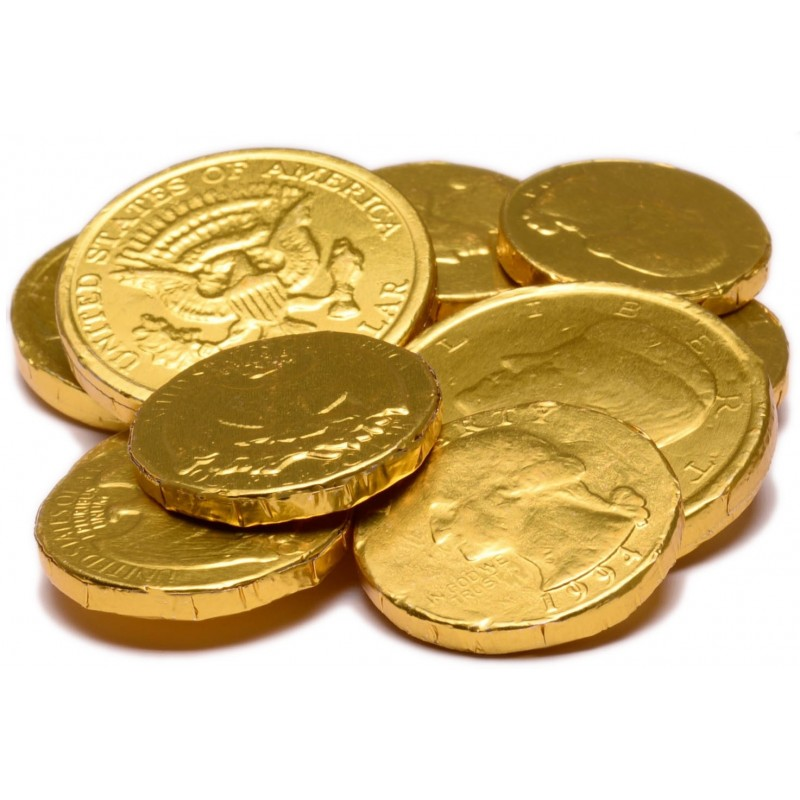 Milk Chocolate Assorted Gold Coins