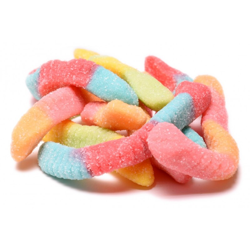 Sour Neon Gummi Worms